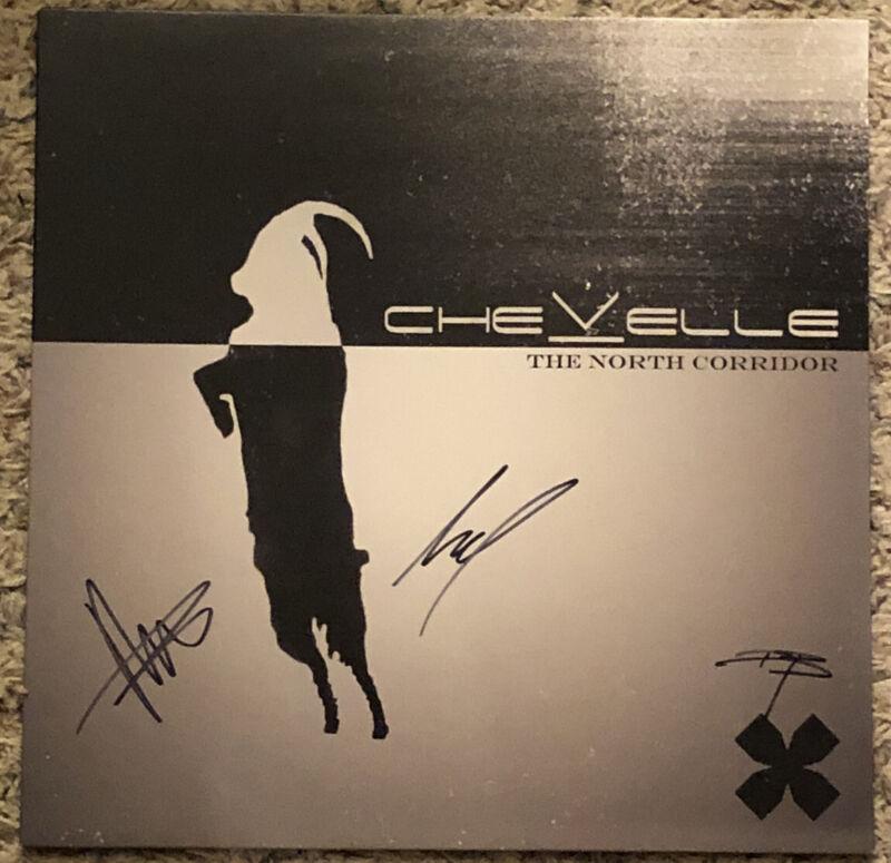 Chevelle Band  LP The North Corridor Pete & Sam Loeffler Dean Bernardini SIGNED