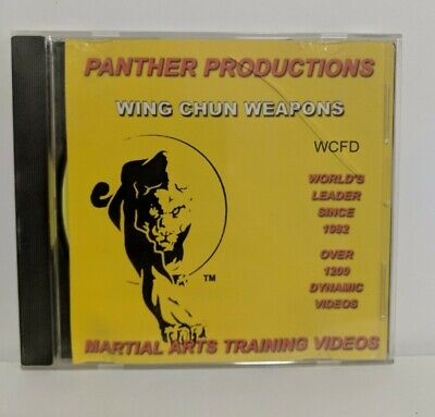 Panther Productions Martial Arts Training Videos WING CHUN WEAPONS DVD WCFD