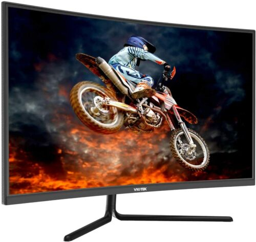 "VIOTEK GNV32DB 32"" Curved Gaming Monitor 144Hz WQHD 1440p G-Sync-Ready FreeSync"