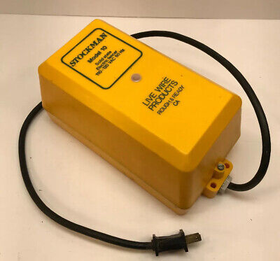 Stockman Model 10 Solid State Electric Fencer 110-120v Live Wire Products Fence
