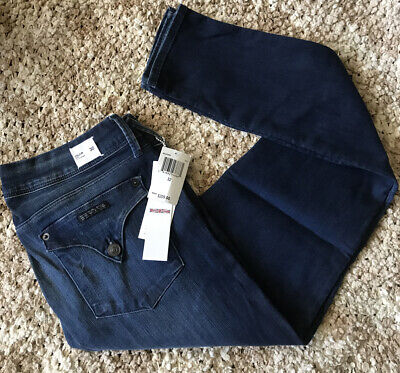 Hudson Women's Jeans Collin Skinny Electric Clover STRETCH Size 32 $209