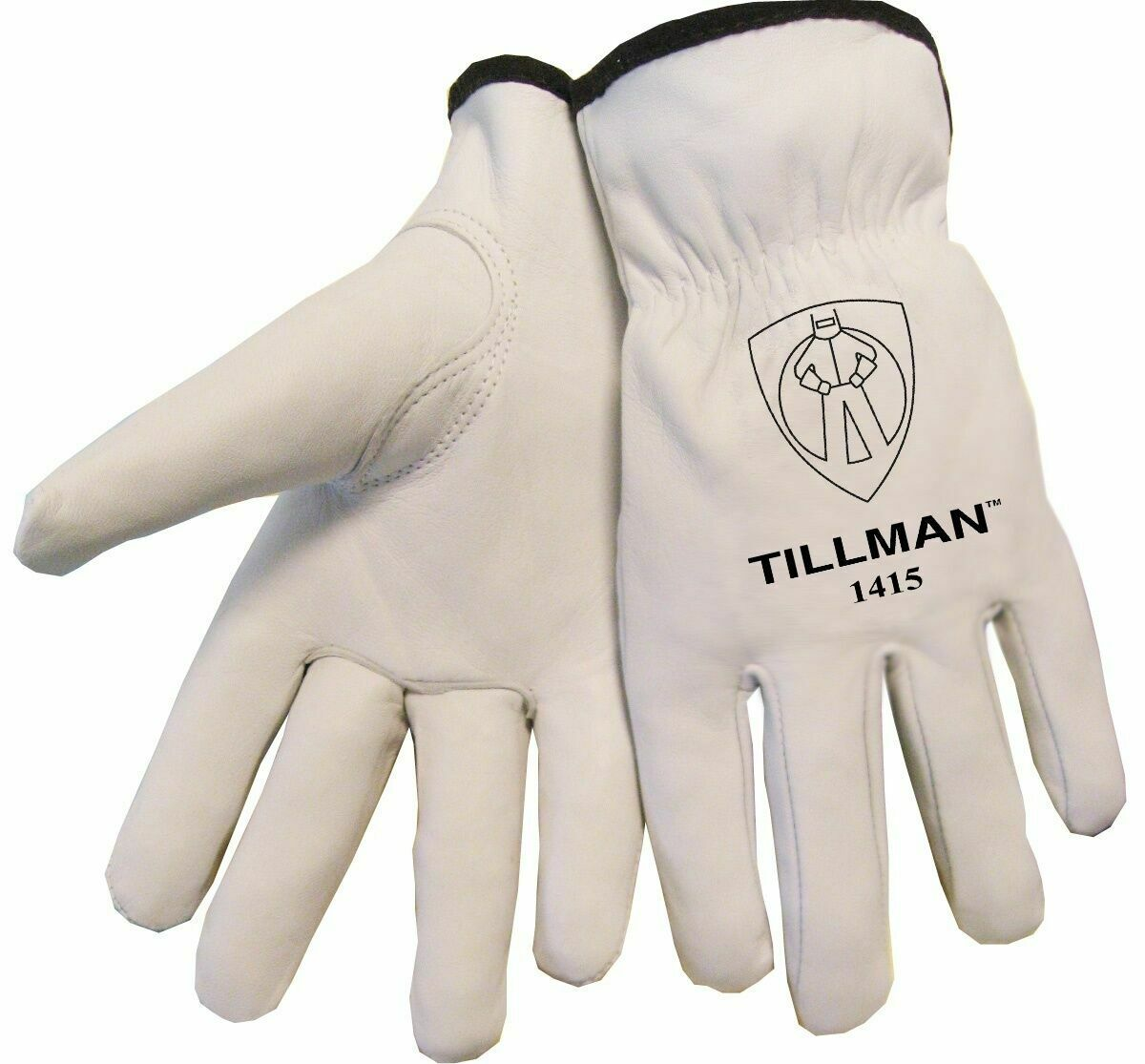 Tillman 1415 Unlined Top Grain Goatskin Drivers Gloves Various Sizes Small-XLg Business & Industrial