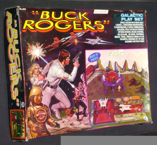 Buck Rogers Galactic Play Set Rare Hand Sample Proof