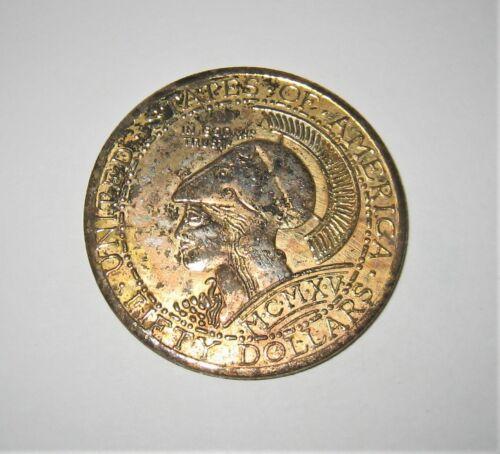 1970s Remake of 1915 Coca-Cola $50 Annual Convention Commemorative Coin