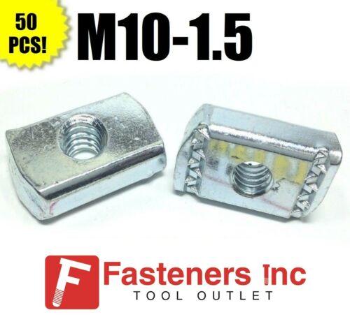 (#4210) P3008M10 EG M10-1.5 Strut Nuts W/O Spring for Unistrut Channel 50/BOX