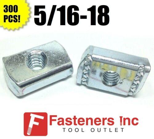 (#4166) (P3007) 5/16-18 Strut Nuts W/O Spring Unistrut / B-Line Channel 300/BOX