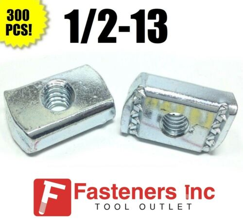 (#4172) P3013 1/2-13 Strut Nuts W/O Spring for Unistrut/B-Line Channel 300/BOX