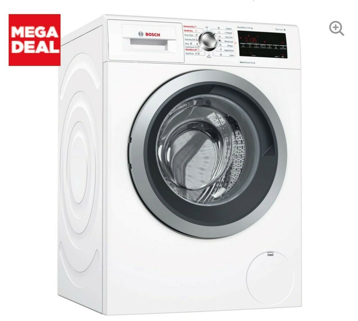 Bosch washer/dryer model WVG30462GB