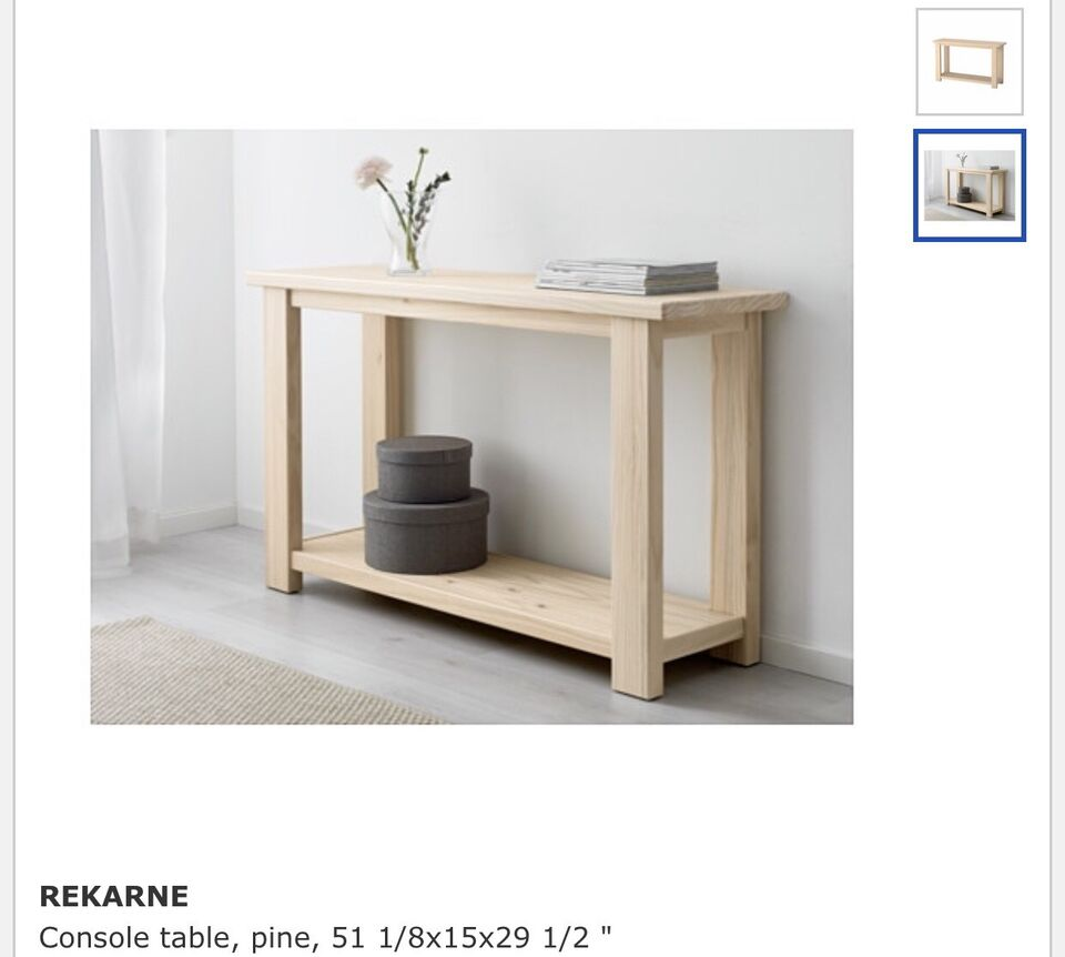 Rekarne console table ikea other tables city of toronto kijiji listing item geotapseo Choice Image