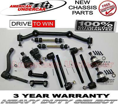 Chevrolet Blazer S10 GMC RWD Ball Joint Tie Rod Idler Arm Center Link Kit 96-05 comprar usado  Enviando para Brazil