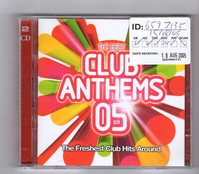 (IR469) The Best Club Anthems 05, 43 tracks various artists - 2005 double