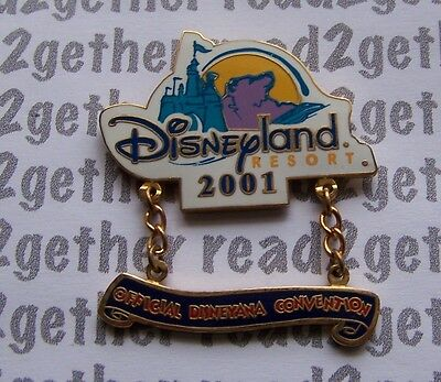 Disney Pin Disneyland Resort Official Disneyana Convention