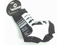 ASSOS Summer S7 BOOTIES White 2017 Small 36-39