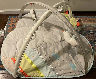 Skip Hop Silver Lining Cloud 307150-CNSZP Baby Play Mat Activity Gym As Is