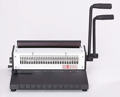 Wire-o Binder31 Heavy Duty Manual 2 Loop Wire Binding Machine Combmovable Pin