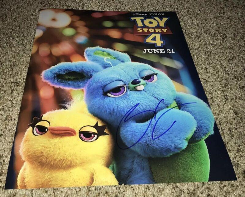 Keegan Michael Key Signed 11x14 Photo Toy Story 4 Ducky