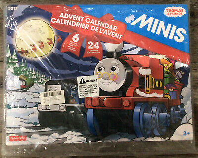 Fisher Price Thomas and Friends Minis 2017 Christmas Advent Calendar New Sealed