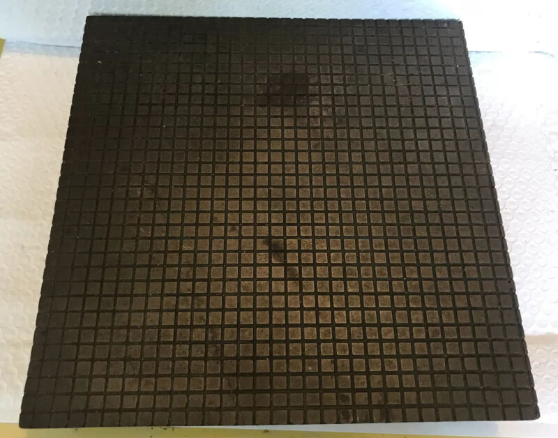 Machinist Tools 12 x 12 Lapping Plate Central Casting Company NYC USA