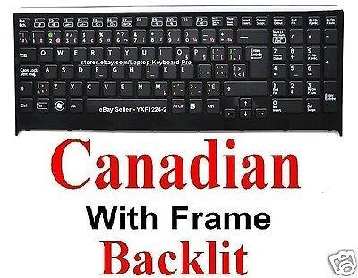 Keyboard TopCase for SONY SVF15213CDB SVF15415CDB SVF15325CDB CA Canadian