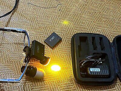 Orascoptic Eyezoom Adjustable Dental Loupes 3x 4x 5x W Free Wireless Led Light