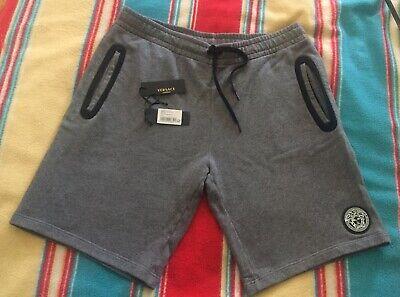 "Versace Hercules Grey Sweat Shorts 2XL XXL 38"" Waist rrp £195"