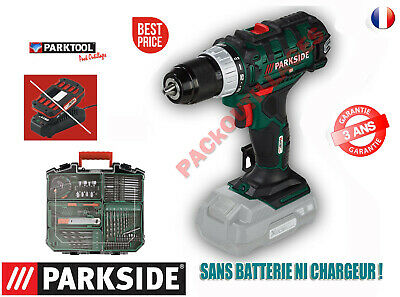 Parkside Juego Taladro-Atornillador Inalámbrico Pabs 20-Li D5, 20V Pack Ss