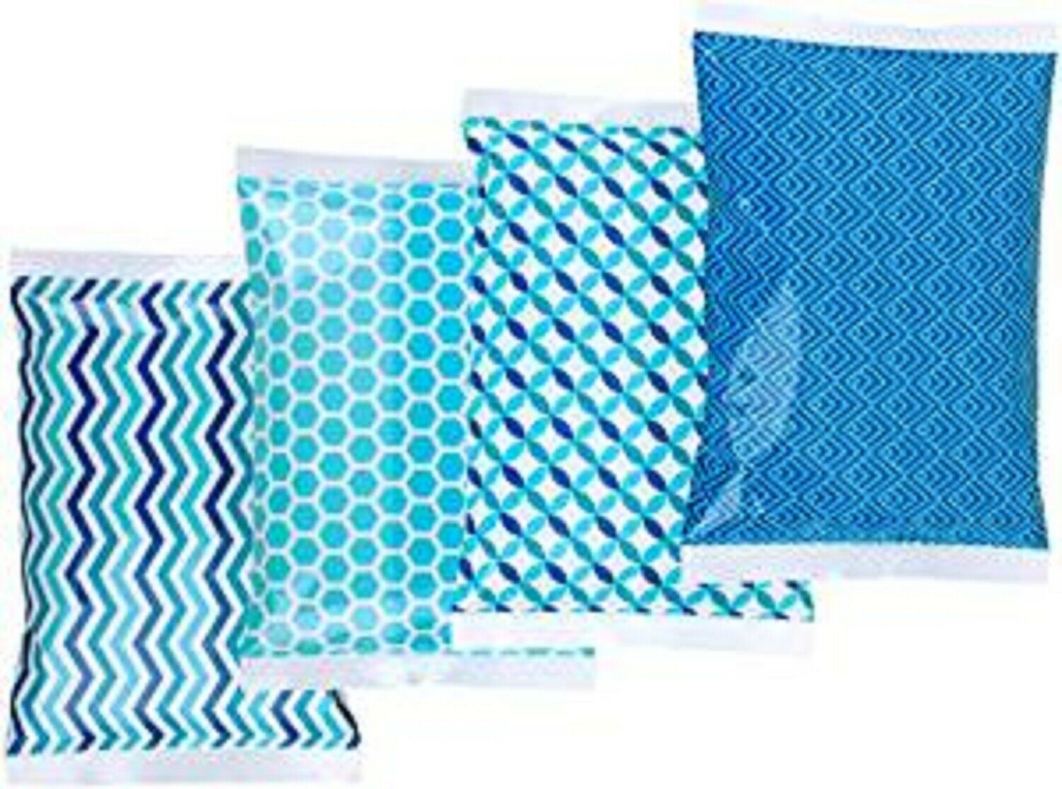 4 Reusable THRIVE Ice Packs for Lunch Boxes - Keeps Food Col