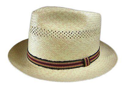 Beachcomber Hats (Stetson Beachcomber Straw Hat Fedora Size)