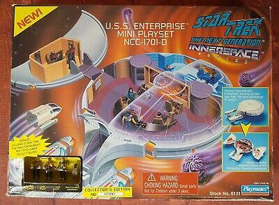 Star Trek TNG Innerspace Series USS Enterprise Mini Playset 1995 Playmates