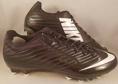 premium selection 7e0d0 704fe Nike Vapor Speed Low TD Football Cleats Men s Size 15 Black White 643152-010  NEW