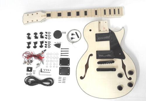 239A DIY MB Totally NO-SOLDER DIY Kit-LP Style Electric Guitar,Semi-Hollow Body