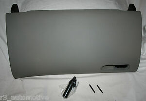 2002 to 2008 Audi A4/S4 Glove Box Door Lid Kit - NEW FACTORY OEM  -Platinum GRAY