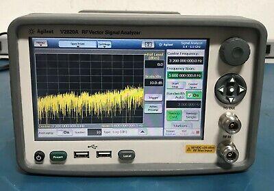 Agilentkeithley 2820v2820a 6ghz Rf Vector Signal Analyzer Loaded With Options