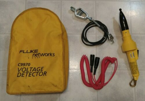 Fluke Networks C9970 High Voltage Detector with Tether.