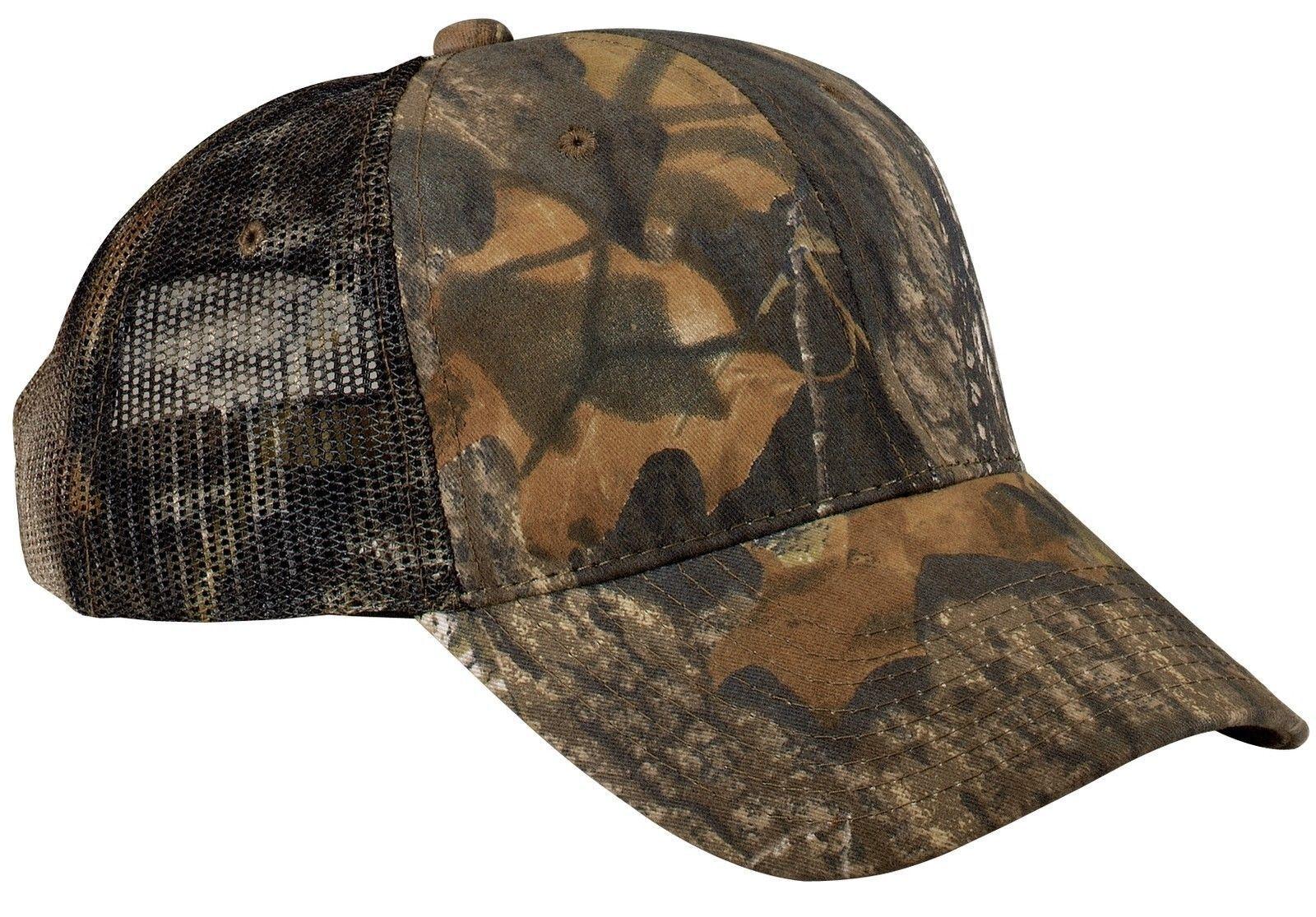 new camo hunting caps mesh baseball hat trucker realtree mossy