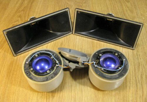 Lomo Kinap 1a22 / 1A 22 USSR early version of cinema driver speaker & horn, pair