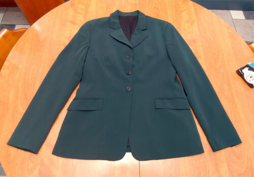 RJ Classics, Xtreme tech show coat jacket, green, ladies USA 10
