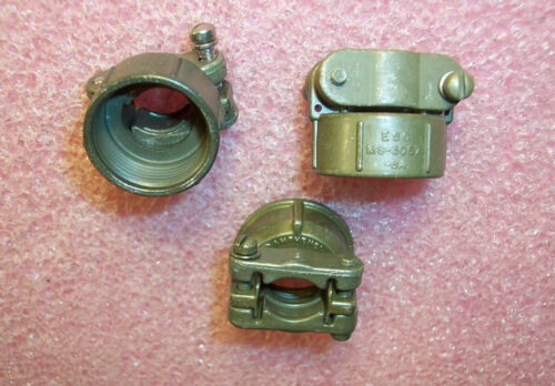 QTY (3)  MS3057-8A CABLE CLAMPS NOS
