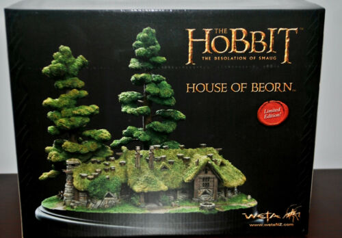 Weta sculpture - The Hobbit: The Desolation of Smaug - House of Beorn Diorama