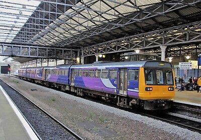 142039+150110 Arriva Northern 6x4 Quality British Rail Photo