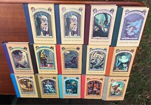 A Series of Unfortunate Events Books 1-13