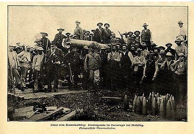 Transvaalkrieg * Sonntasruhe im Burenlager vor Maseking* Bilddokument 1900