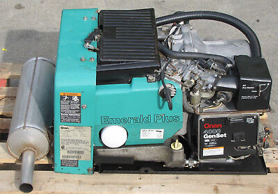 Cummins Onan Emerald Plus Genset 4000 Watt Rv Generator 4 Kw