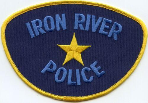 IRON RIVER MICHIGAN MI POLICE PATCH