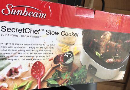 Sunbeam Secret Chef Slow Cooker