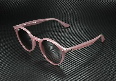 RAY BAN RB2180 62297E Opal Antique Pink Mirror Silver Gradient 49 mm (Antique Ray Bans)
