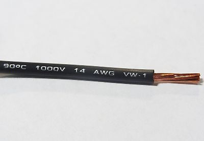 14 Gauge Wire Black 25 Ft Primary Awg Stranded Copper Power Remote Mtw