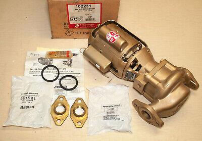 Bell Gossett 102231 Hv Ab Booster Pump 16 Hp M10711 Bronze Circulator Pump