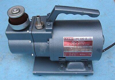 Ulvac Gc-20d Vacuum Pump