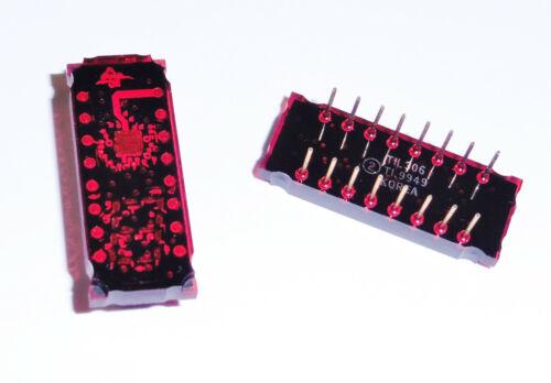 LED Display Chip TIL306 7-Segment Texas Instruments (qty. disc $9/ea.) Free S/H